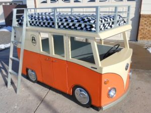 Camper Van Kids Bed Inspiration 21