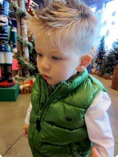 Little Boy Haircuts Inspiration 37