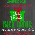 Christmas Pregnacy Announcment 3