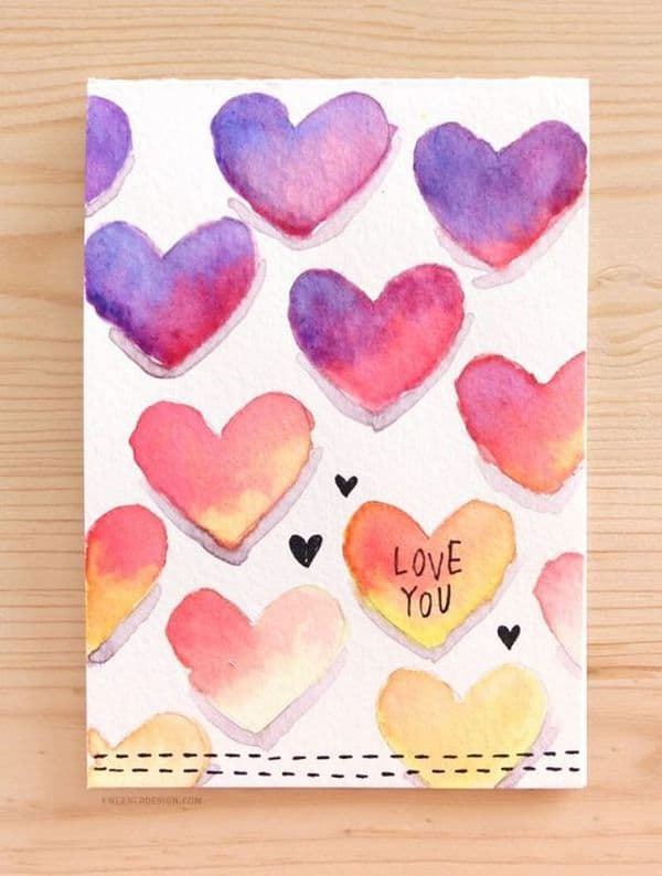 DIY Valentine Card 18 Result