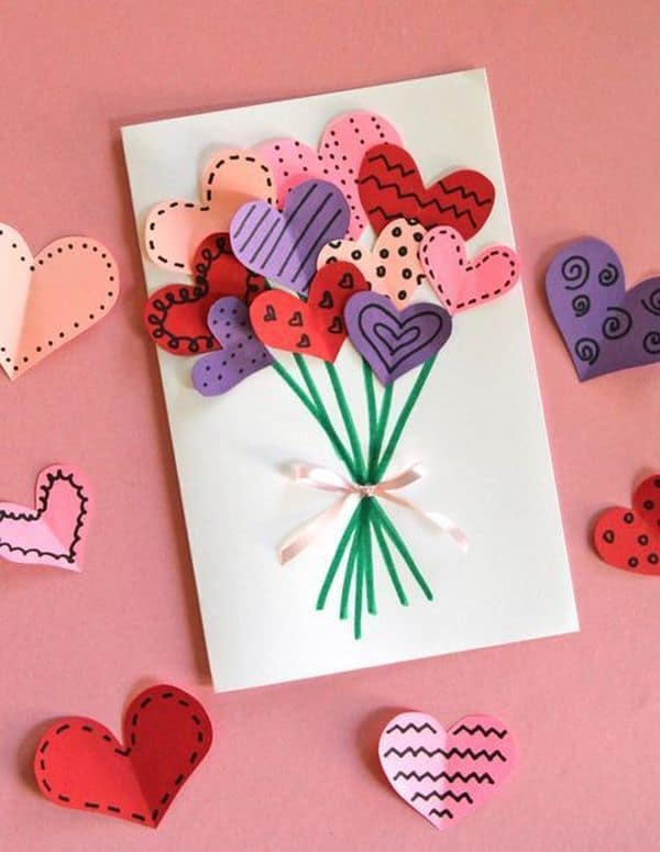 DIY Valentine Card 8 Result