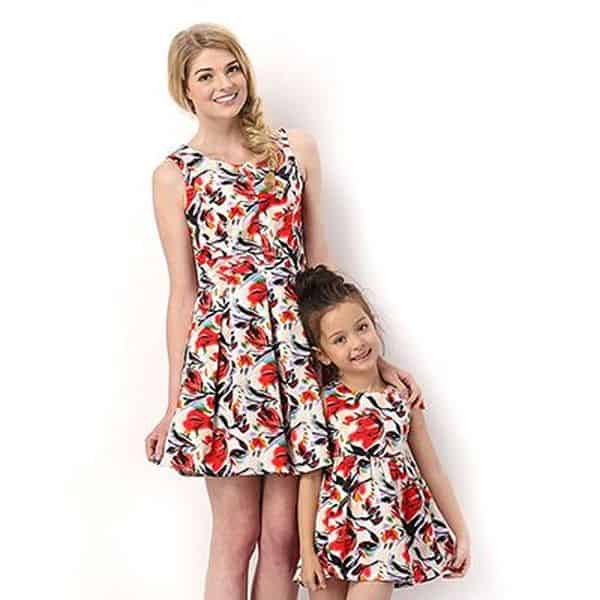 Floral Dress Kids 12 Result