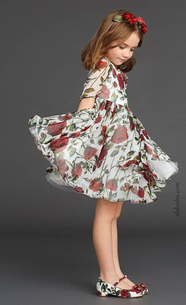 Floral Dress Kids 4 Result