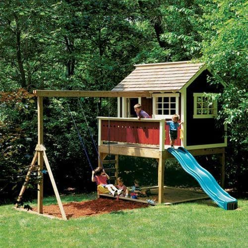 Backyard Playhouse 15 Result