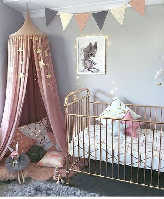 Pink Grey Nursery 6 Result
