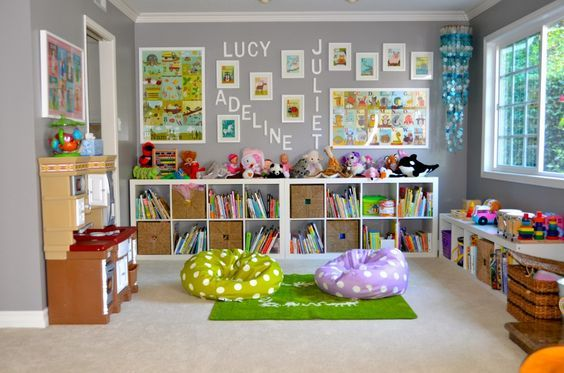 adorable kids playroom ideas