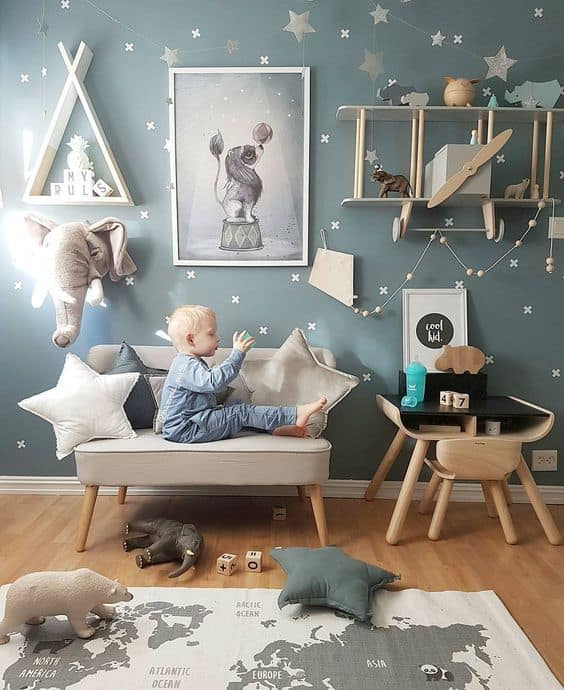 Kid's Playroom Decorating Ideas