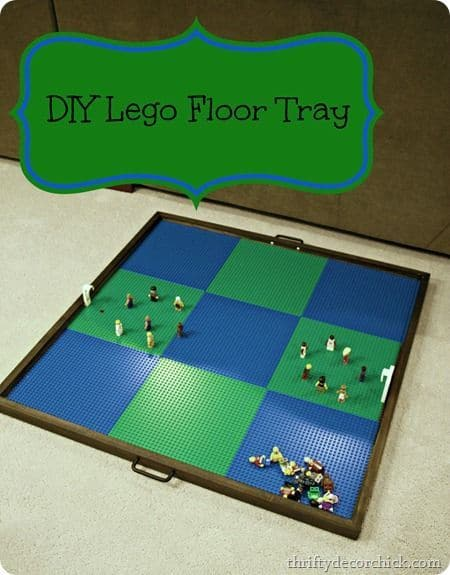 DIY Lego Tables 10