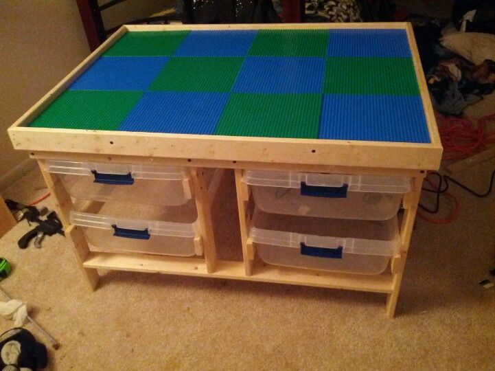 DIY Lego Tables 14