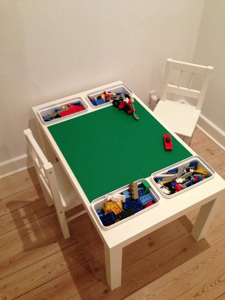 DIY Lego Tables 3